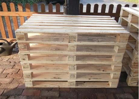 Normal pallet 1000 *1200, storage in racks, B2B
